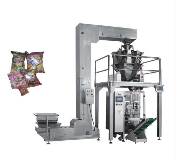 Puffed food packaging machine