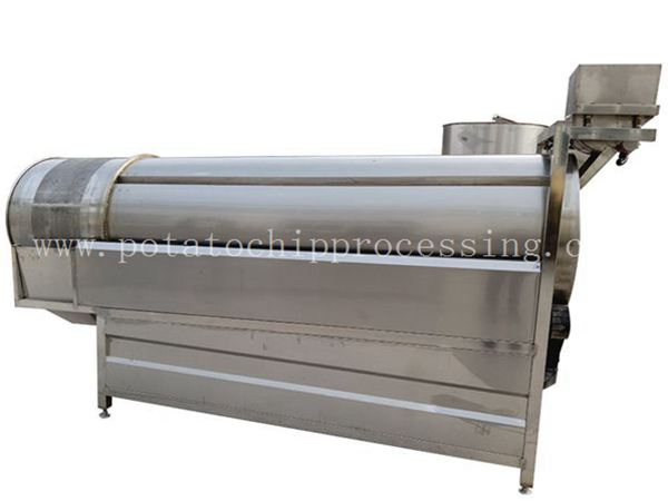 Drum Potato Chips Seasoning Machine9