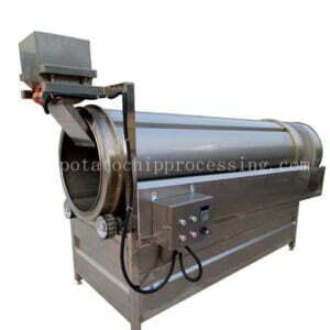 Drum Potato Chips Seasoning Machine