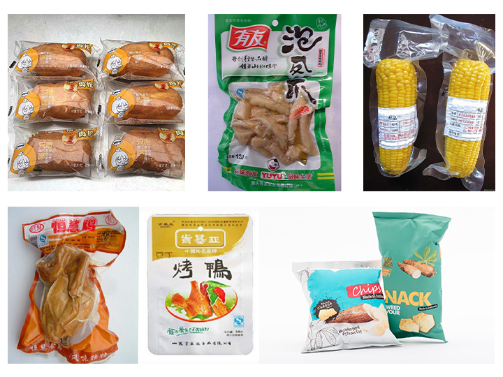 Nitrogen potato chips packing machine application
