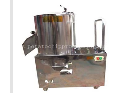 Potato Washing and peeling machine5