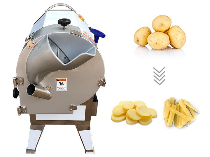 commercial potato chips slicer