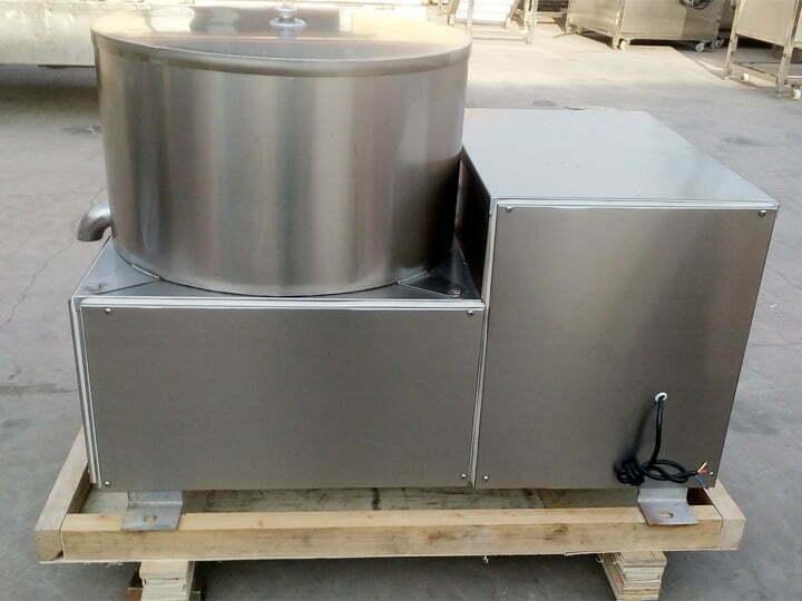 de-oiling and de-watering machine