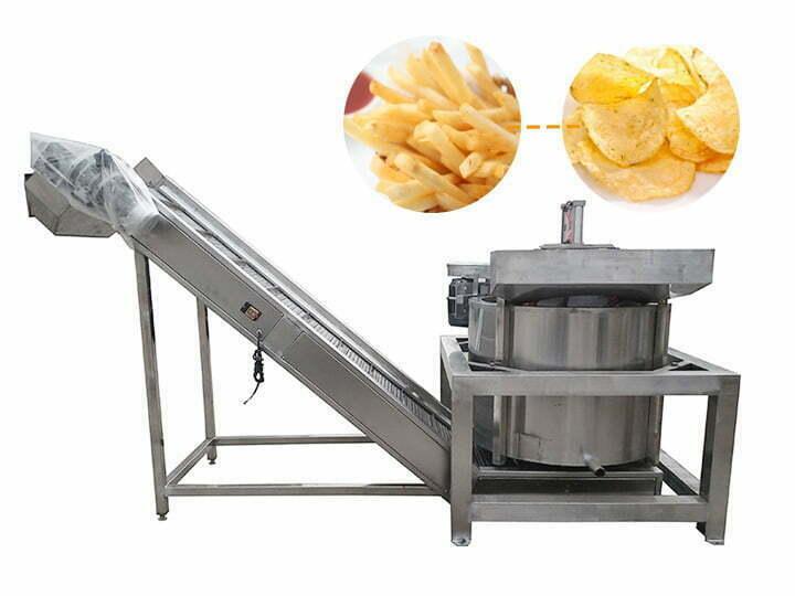 fried food de-oiling machine