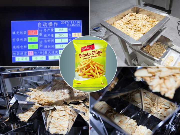 how to pack potato chips french fries