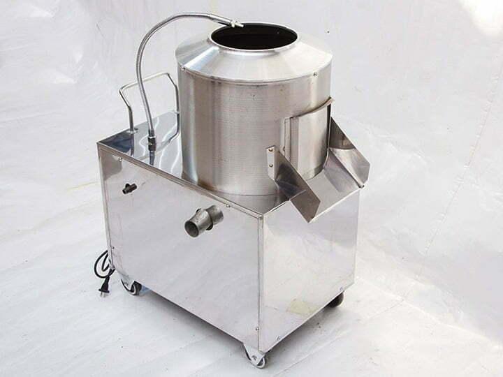 small potato washing peeling machine