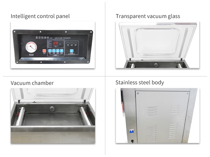 vacuum french fries packaging machine details