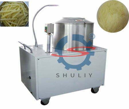 Introduction of potato washing and peeling machine 2