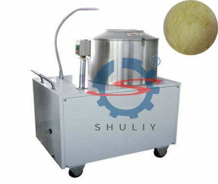 Introduction of potato washing and peeling machine
