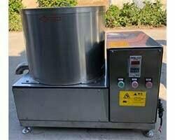 centrifugal de-watering machine