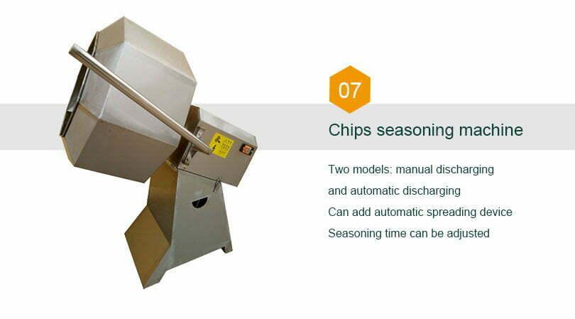 chips seasoning flavoring machine