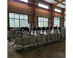 cooling de-oiling machine