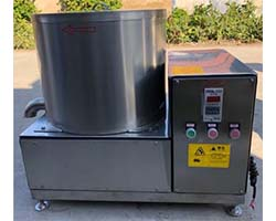 de-oiling machine