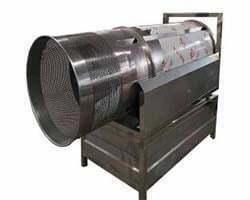 drum chips seasoning machine