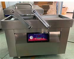 french fry packaging machine