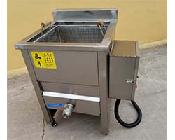 potato fries frying machine