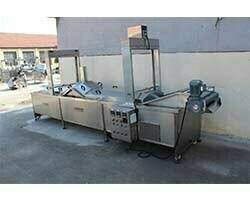 potato strips blanching machine