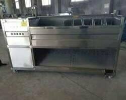 screw potato cleaning machine