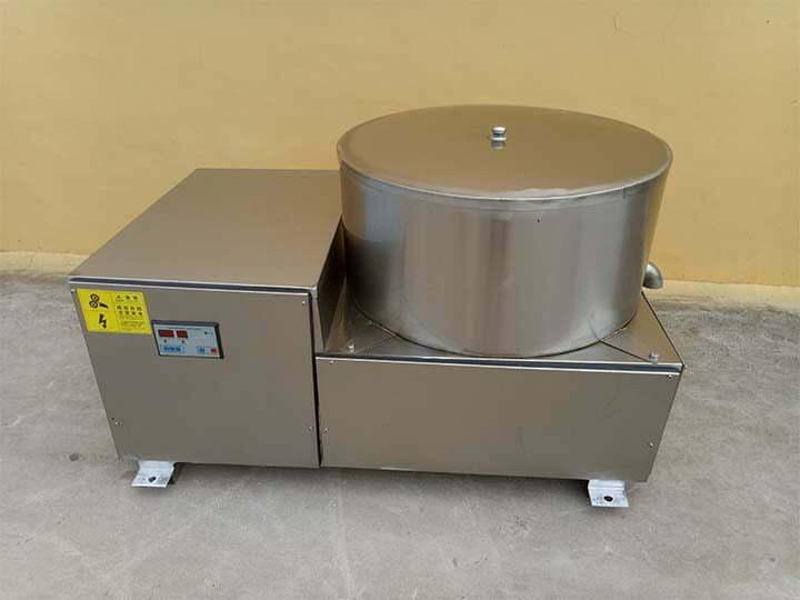 centrifugal potato chips de-oiling machine