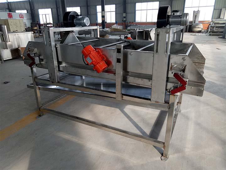 continuous chips de-oiling machine