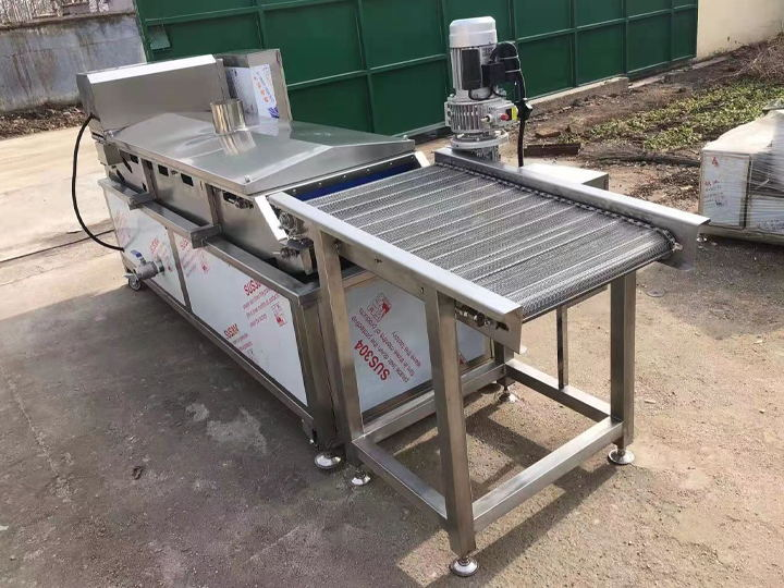 chips frying machine details
