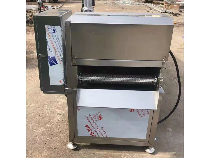 industrial continuous chips fryer