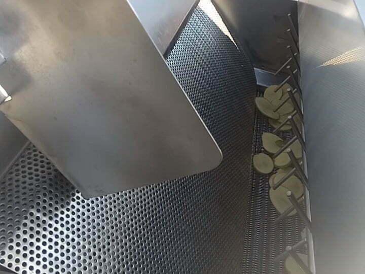 potato chips frying