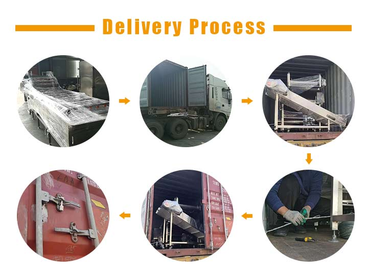 South Africa potato washing machine delivery picture